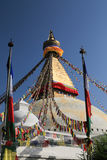Boudhanath stupa from nepal Stock Photo
