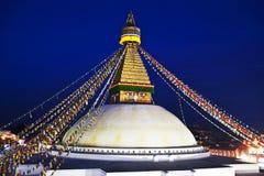 Boudhanath Stupa, Nepal Stock Image