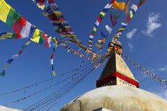 Boudhanath Stupa. Nepal, Kathmandu, buddhist stupa Boudhanath royalty free stock photo
