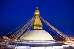 Boudhanath Stupa, Nepal Stock Images