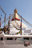 Boudhanath Stupa stupa/temple Stock Photography