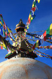 The Boudhanath Stupa Stock Images