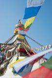 Boudhanath stupa w Kathmandu dolinie, Nepal Fotografia Royalty Free