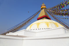 Boudhanath Temple, Kathmandu, Nepal Stock Photo