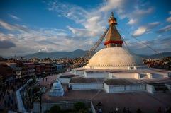 Boudhanath Temple, Kathmandu, Nepal. Image of Boudhanath Temple, a 4th century CE UNESCO World Heritage site at Kathmandu, Nepal Stock Photos