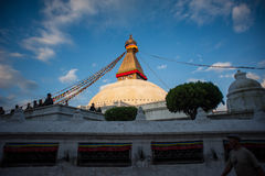 Boudhanath Temple, Kathmandu, Nepal. Image of Boudhanath Temple, a 4th century CE UNESCO World Heritage site at Kathmandu, Nepal stock photo