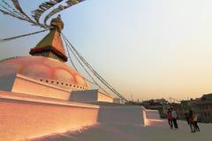 Boudhanath temple Stock Images
