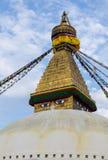 Boudhnath Stupa, Kathmandu, Nepal Royalty Free Stock Photos