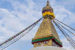Boudhnath Stupa, Kathmandu, Nepal Royalty Free Stock Images