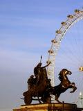 Boudicca с глазом Лондона Стоковое фото RF