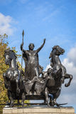 Boudiccan叛乱纪念碑在伦敦 免版税库存图片