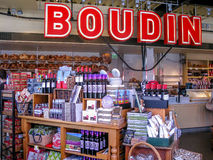 Boudin Bakery in San Francisco Stock Photo