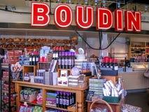 Boudin Bakery in San Francisco stock photo
