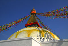 Boudnath stupa Stock Photos