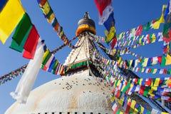 Boudnath stupa in Kathmandu - Nepal Stock Photos