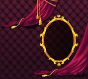 Boudoir background. Luxury boudoir background in purple Stock Images