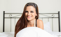 Boudoir portrait Stock Photo