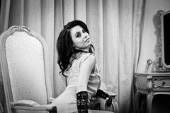 Boudoir Portraiture Royalty Free Stock Photo
