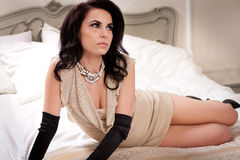 Boudoir Portraiture Royalty Free Stock Images