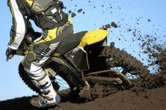 Boue 04 de Moto Photos libres de droits