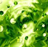 Boue verte Photographie stock