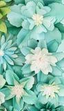 The bouganvilla mit allen seinen Dornen ist aber eine schöne Blume Stockfoto
