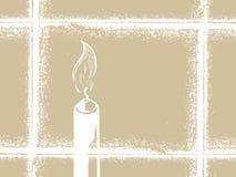 Bougie illustration stock