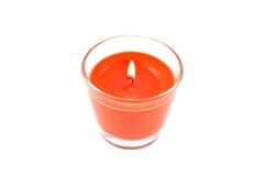 Bougie aromatique brûlante Photos libres de droits