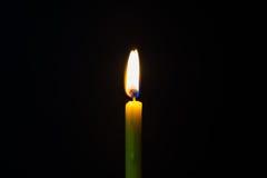 Bougie brûlante Photo stock