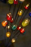 Bougie colorée d'aromatherapy Photo libre de droits