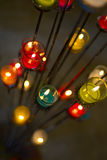 Bougie colorée d'aromatherapy Images libres de droits