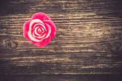 Bougie, décoration de Saint-Valentin Image libre de droits