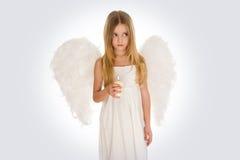 bougie d'ange photographie stock libre de droits