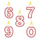 Bougie d'anniversaire Photos libres de droits