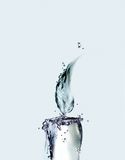 Bougie de l'eau photo stock