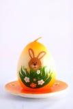Bougie de simbol de Pâques Photographie stock libre de droits