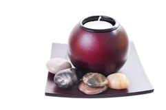Bougie de zen Image libre de droits