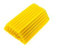 Bougie jaune Photos stock