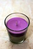 Bougie parfumée Photo libre de droits