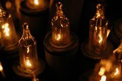 Bougies électriques photographie stock libre de droits