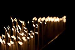 Bougies Photographie stock libre de droits