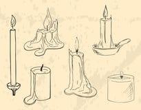 Bougies illustration de vecteur