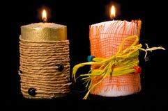 bougies Photos libres de droits