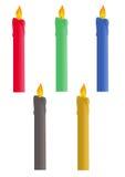 bougies Photos stock