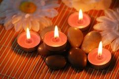 Bougies aromatiques Images libres de droits