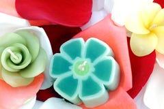 Bougies colorées. Photographie stock libre de droits