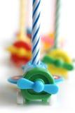 Bougies d'anniversaire Images stock