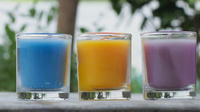 Bougies d'arome Photos libres de droits