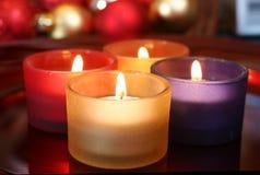 Bougies de célébration Image libre de droits