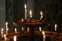 Bougies de Cathederal Photos libres de droits
